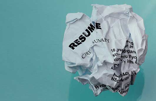 Avoid These Four Resume Killers